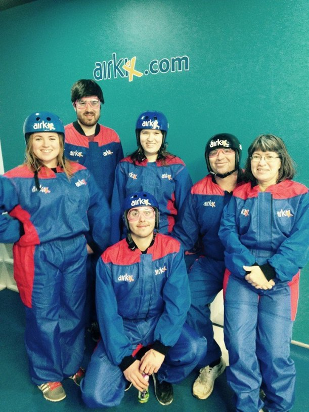 Group shot at Airkix Basingstoke